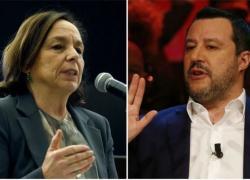 """Salvini contro Lamorgese, la lettera aperta contro la ministra: """"Fallimento annunciato"""""""