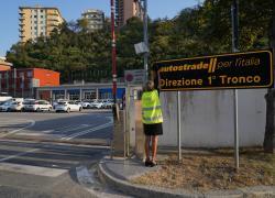 Autostrade per l'Italia ricorda le vittime del Ponte Morandi