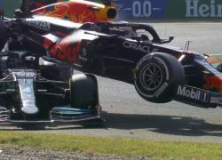 Formula 1, incidente tra Verstappen e Hamilton durante il GP di Monza