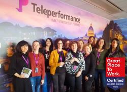 Teleperformance Italia certificata Great Place to Work 2021