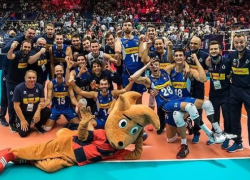 Pallavolo, Italia-Slovenia 3 a 2: Azzurri campioni d'Europa