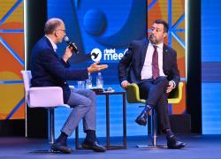Scontro Salvini-Letta: al centro del dibattito Green pass e vaccino obbligatorio