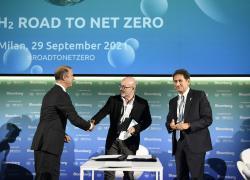 Snam e IRENA: al via collaborazione per sviluppare iniziative nell'idrogeno verde a livello globale