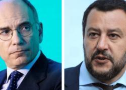 """Elezioni comunali ballottaggio 2021, Letta: """"Un trionfo"""". E Salvini: """"Eletti da una minoranza"""""""