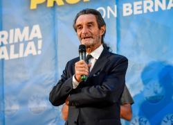 """Lega, Fontana """"blinda"""" Salvini: """"Non c'è mai stata una voce che ha contestato la sua linea"""""""