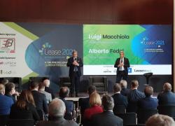 """Milano, al via LEASE 2021.Antonio Patuelli: """"Leasing fondamentale strumento per l'attività economica"""""""