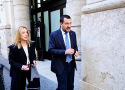 """Centrodestra, Salvini: """"L'audio su Fratelli d'Italia? Io e Meloni scherziamo sempre"""""""