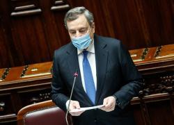 """Pnrr, Draghi: """"Al centro i giovani: a loro il compito di trasformare l'Italia"""""""