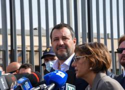 """Quirinale, Salvini: """"Per il dopo Mattarella mi interessa nome di livello, non se è donna o è uomo"""""""