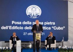 """Al Campus Bio-Medico di Roma nasce """"Cubo"""" il nuovo edificio della didattica"""