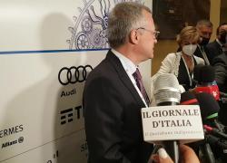 """Bonomi (Confindustria): """"Apprezziamo l'opera del governo Draghi e auspichiamo che le 48 riforme siano concretizzate"""""""