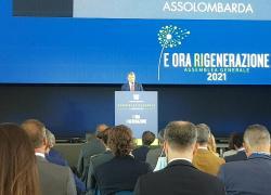"""Assemblea Assolombarda 2021, Spada: """"Rigenerazione economica, sociale e politica con il PNRR"""""""