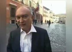 """Mafia, condannato l'ex senatore D'Alì, intervista a Roma: """"Servitore della cosa pubblica"""" VIDEO"""