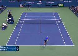 Novak Djokovic batte Matteo Berrettini ai quarti di finale US Open: video e highlights
