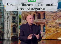 """Fratelli di Crozza, Monologo: """"Letta ti ha votato meno di uno su dieci, hai vinto per abbandono"""""""