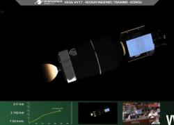 Spazio, perdita razzo Vega VV17: invertiti comandi 4° stadio AVUM