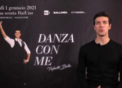 Roberto Bolle torna con Danza con Me: ridare speranza con l'arte