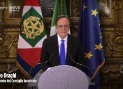 """Ecco Crozza come Draghi:""""grazie Mattarella, incontro Vito Crimi!"""""""