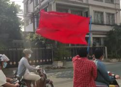 Myanmar, corteo di motociclisti a Mandalay per San Suu Kyi