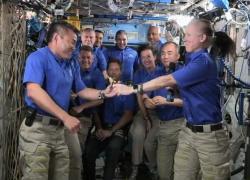Spazio, cambio di comando a bordo della Stazione spaziale