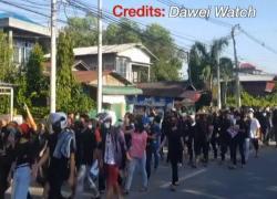 In Myanmar non si fermano le proteste, spari sulla folla: 8 morti