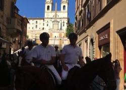 A Roma la sfilata del Polo per il Concorso Piazza di Siena