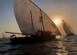 La tradizionale regata di Al-Gaffal nel Golfo Persico