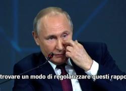 Putin: serve un modo per migliorare i rapporti con gli Usa