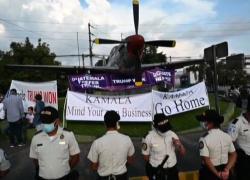 """Kamala Harris contestata in Guatemala: """"Fatti gli affari tuoi"""""""