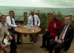 Cartoline dal G7, la prima serata a Carbis Bay