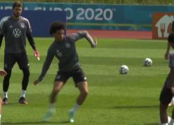 Euro 2020, la nazionale tedesca si allena per battere la Francia