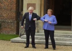 Covid, Merkel a Johnson: preoccupata per le finali di Euro2020