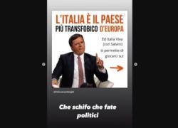 Ddl Zan, l'ira di Ferragni contro Renzi: Politici fate schifo