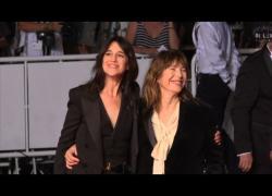 Cannes, red carpet di star francesi: Marceau, Huppert, Gainsbourg