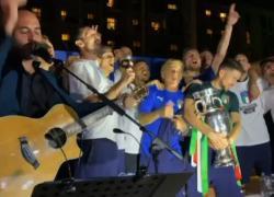 """Azzurri scatenati con Negramaro. E urlano """"It' coming Rome"""""""