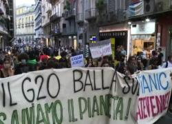 G20 sul clima a Napoli tra le proteste degli ambientalisti