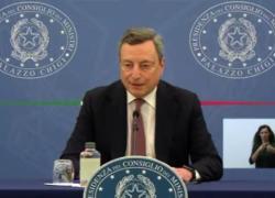 """Draghi: """"Green pass non è arbitrio"""""""