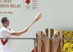 Tokyo2020, arriva la torcia olimpica per la cerimonia d'apertura