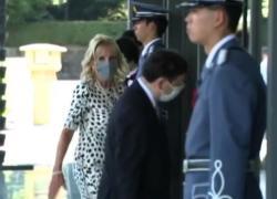 Olimpiadi, Jill Biden arriva al Palazzo Imperiale di Tokyo