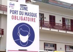 In città turistica in Francia torna obbligo mascherine all'aperto