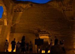 """""""Caracalla Effetto Notte"""", visite e performance sotto le stelle"""