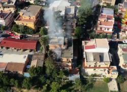 Esplosione in una palazzina a Roma a Torre Angela, tre feriti
