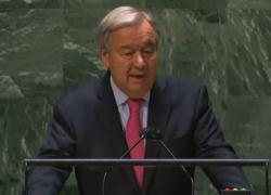 Onu, Guterres: sono qui per dare l'allarme, siamo su orlo abisso