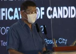 Filippine, Duterte annuncia il ritiro dalla politica