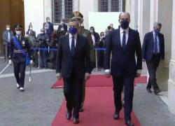 Italia-Francia, Draghi ha ricevuto il primo ministro Jean Castex