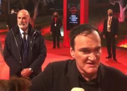 Festa di Roma, Quentin Tarantino superstar sul red carpet