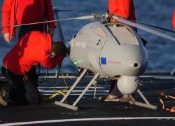 Certificazione militare per l'elicottero drone AWHero di Leonardo