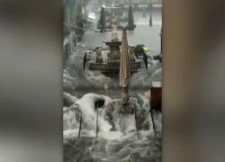 Violento nubifragio su Catania: allagamenti e auto in panne