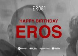 Eros Ramazzotti festeggia compleanno con un omaggio a se stesso