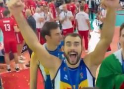 Pallavolo maschile, Italia campione d'Europa: il VIDEO dei festeggiamenti